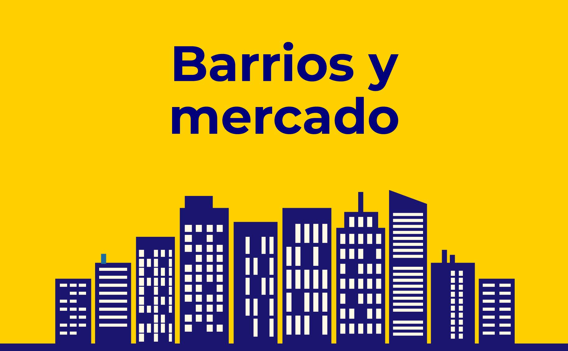 Barrios y mercado inmobiliario