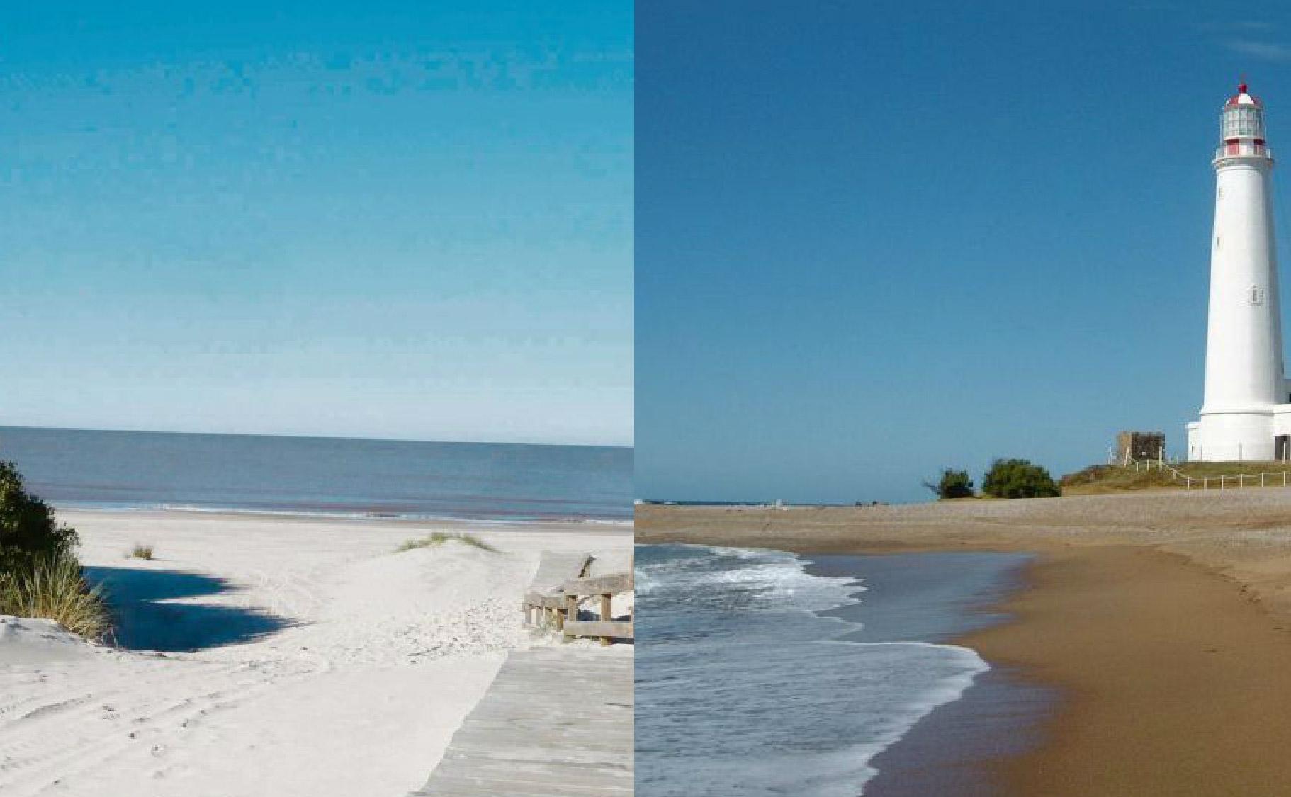 Comprar un terreno en Pinamar es tres veces más caro que en la costa uruguaya